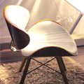 Uptop Furnishings frame retro dining chairs free design for office space-7